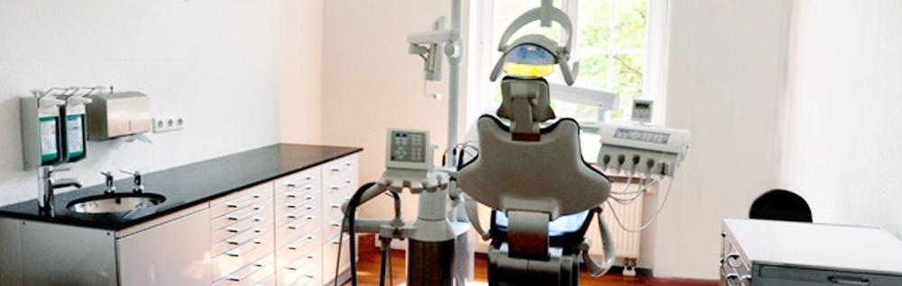 Behandlungsraum Zahnarztpraxis